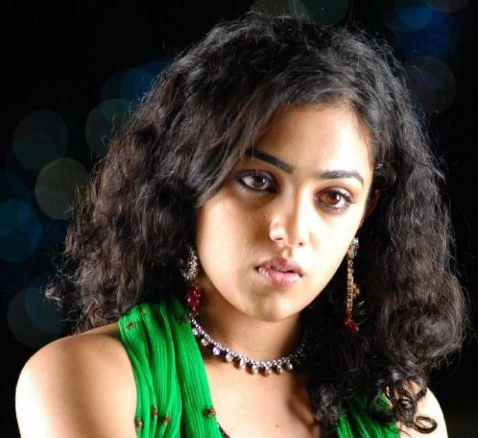 Curly Hair Beauty nitya menon innocent look