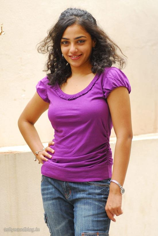 Feet Nitya Menon beauty still