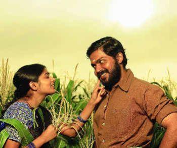 Karthi and Priyamani romantic stills in palnati veerudu telugu movie