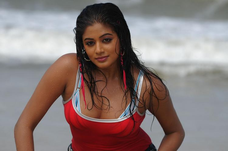 Priyamani hot and Spicy still on the beach