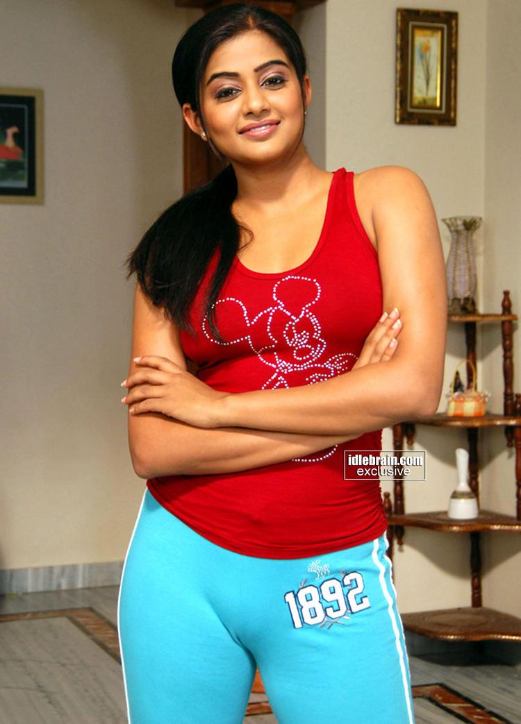 Priyamani red dress cute photo shoot