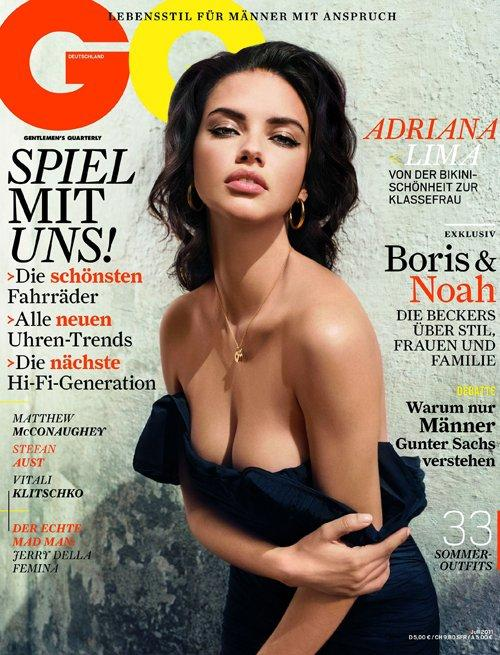 Adriana lima hot gq wallapper