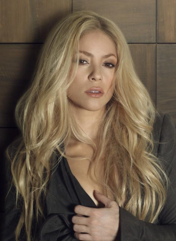 Shakira long hair sexy photo