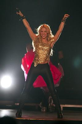 Shakira Live Performance still at Madison Square Garden