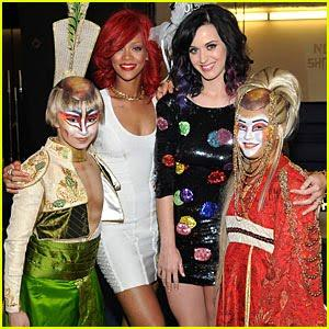 Katy Perry Vegas Bachelorette Party with Rihanna Pictures