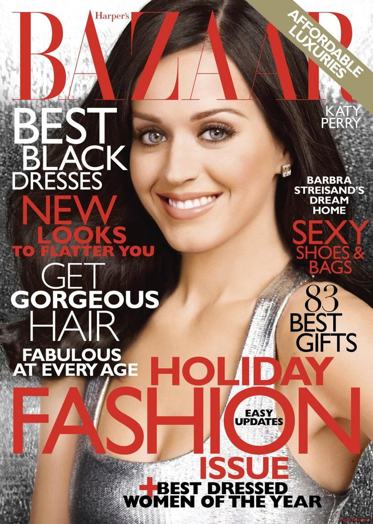 Katy Perry at Bazar cover page