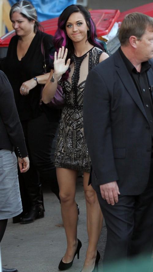 Katy Perry sexy dress public photo