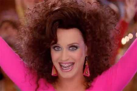 Katy Perry super hair style images