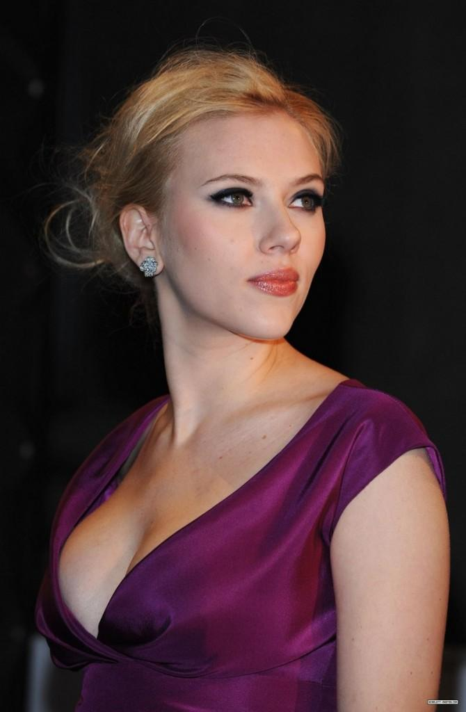 Scarlett Johansson Face Beauty still