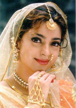 Juhi Chawla wedding dress wallpaper