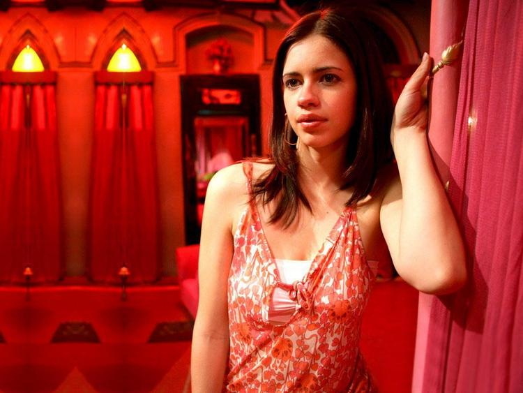 Kalki Koechlin red dress glamour still