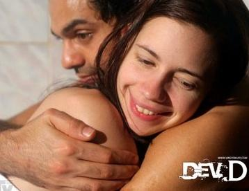 Actress Kalki Koechlin in Dev D wallpaper