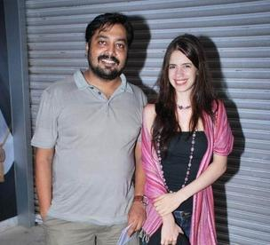 Anurag Kashyap with Kalki Koechlin latest photo