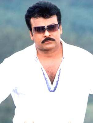 Chiranjeevi stylist look weaing goggles