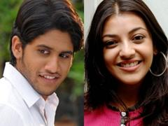 Naga Chaitanya and Kajal Agarwal photo