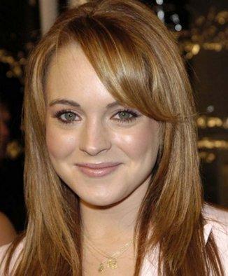 Lindsay Lohan beauty smile face look
