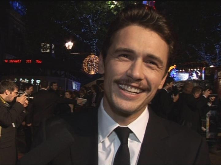 James Franco public smile photo
