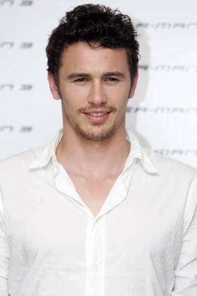 James Franco white shirt beauty still