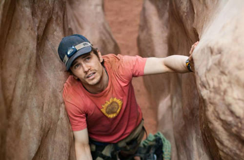 James Franco red t shirt cap images