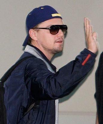 Leonardo DiCaprio blue cap public photo