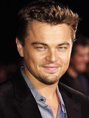 Leonardo DiCaprio looking very gorgeous