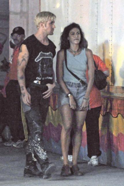 Ryan gosling and eva mendes pines set mini dress still