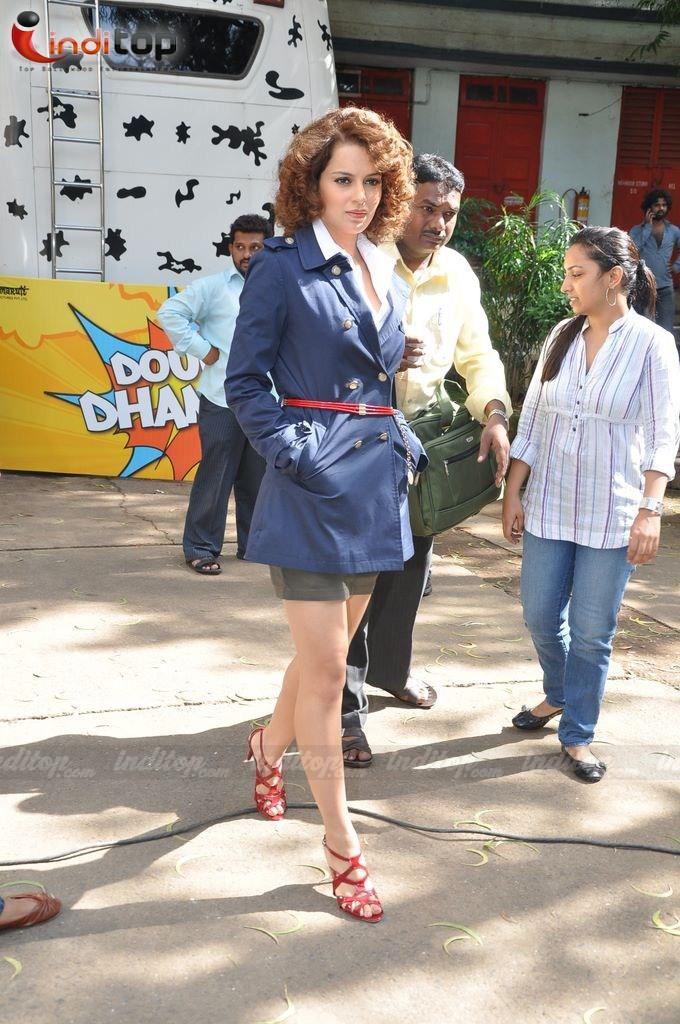 Double dhamaal hindi movie kangana ranaut mini dress still