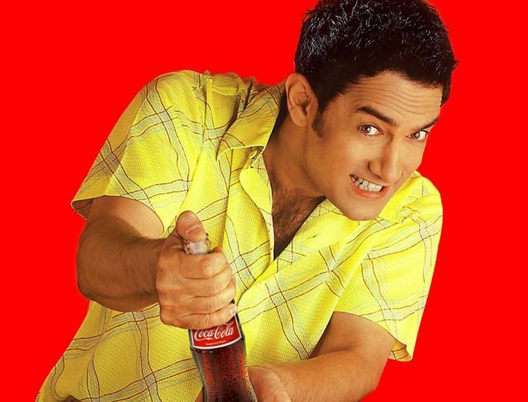Aamir Khan coca cola ad wallpaper