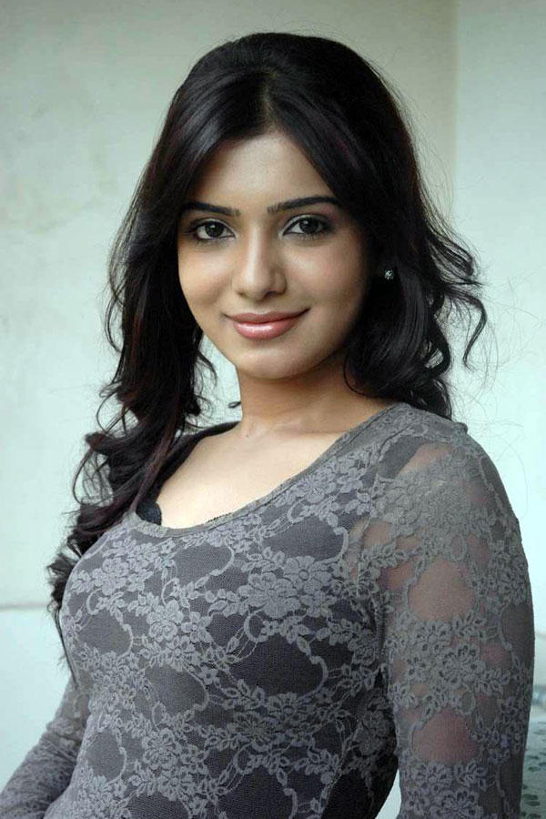 Samantha Ruth Prabhu sleevefull dress sweet still