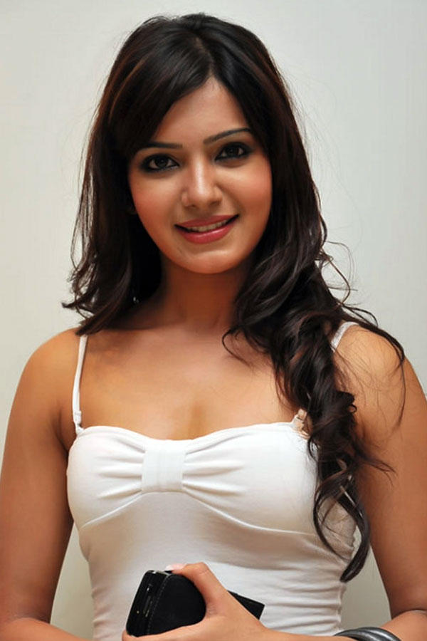 Samantha Ruth Prabhu white dress awesome still