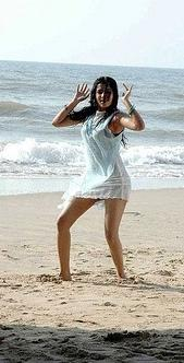 Samantha Ruth Prabhu mini dress hot still on the beach