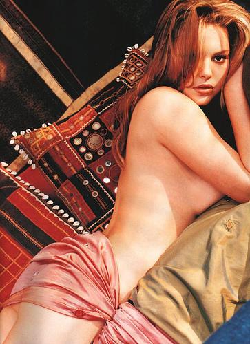 Katherine Heigl top without dress photo