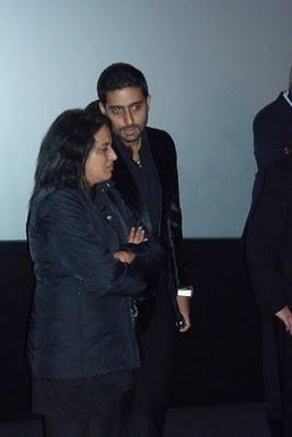 Abhishek Bachchan attended the 'Robot' premiere in London