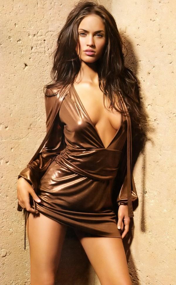 Megan Fox sexy dress hot still