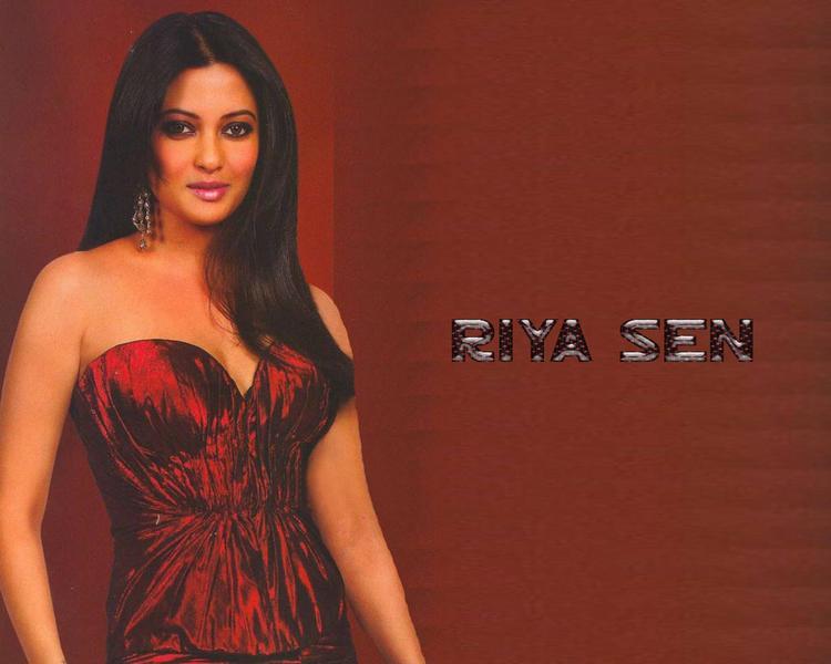 Riya Sen sleeveless dress gorgeous wallpaper