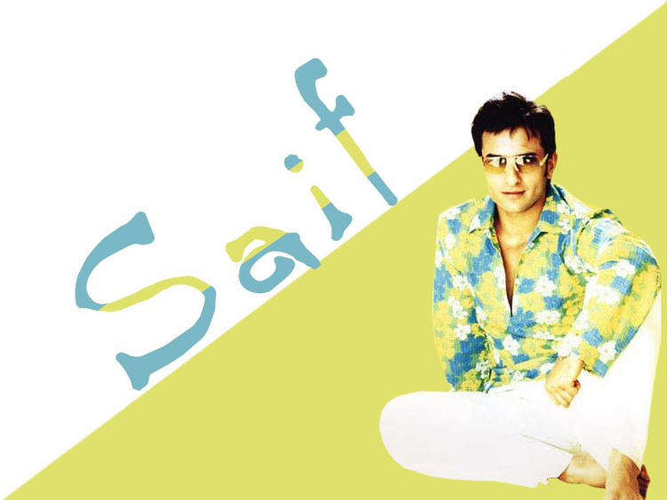 Bollywood Star Saif Ali Khan wallppaer