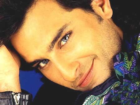 Saif Ali Khan sexy smile face wallpaper