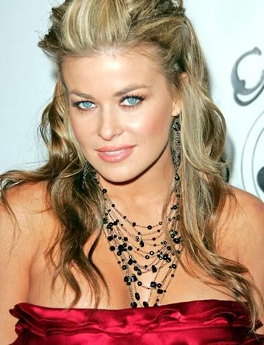 Carmen Electra  red dress gorgeous photo
