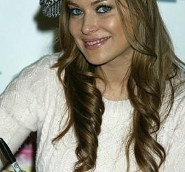 Carmen Electra long hair style still