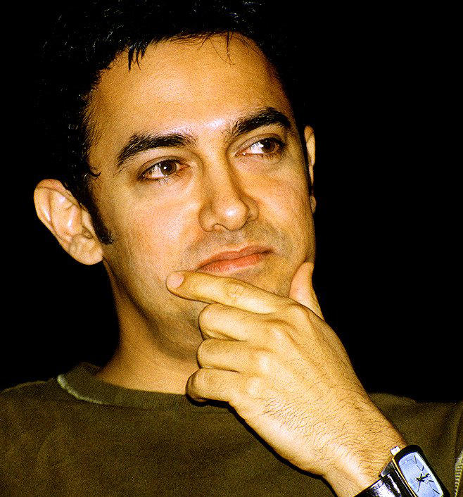 Aamir Khan's beautiful face look