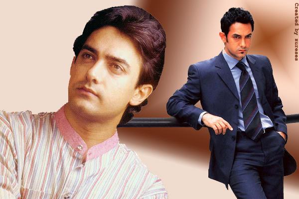 Stylist Aamir Khan wallpaper