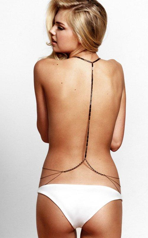 Hot kate upton backless dress wallpaper