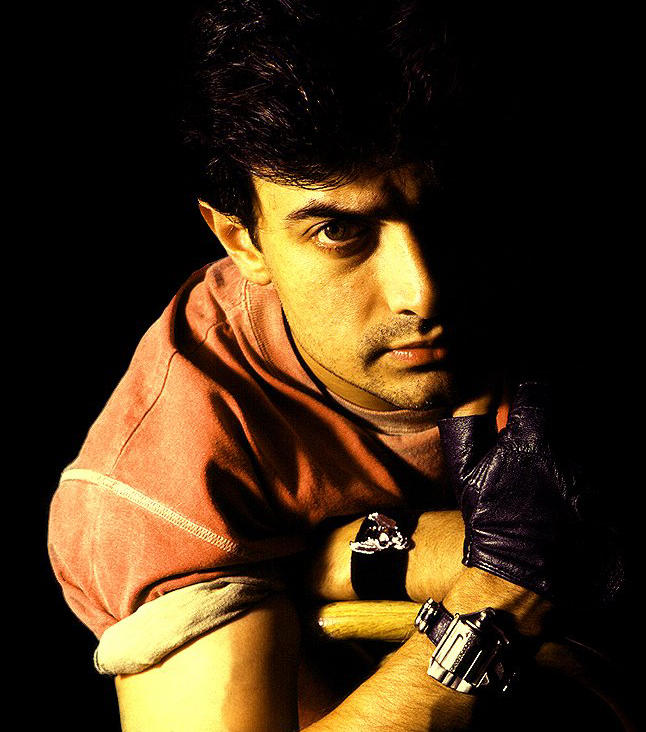 Aamir Khan hot look