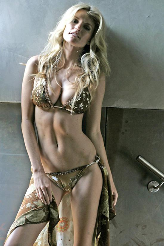 Marisa Miller spicy pose bikini dress still