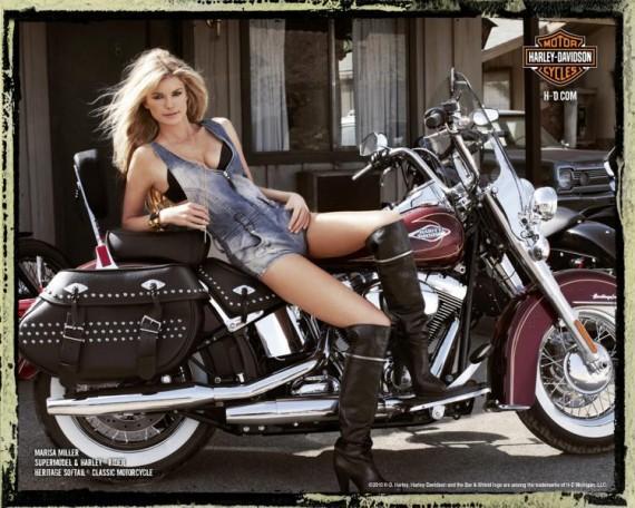 Marisa Miller wonder bike still