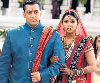 Asin with Salman Khan in ready