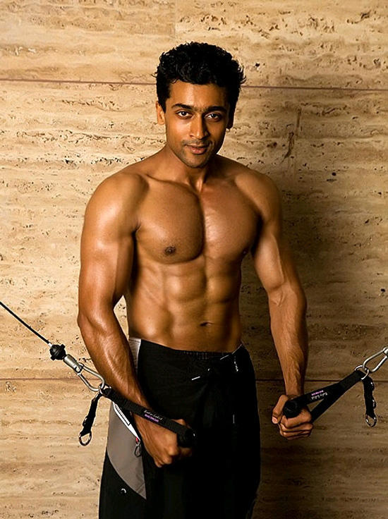 Surya Six Pack  sexy still
