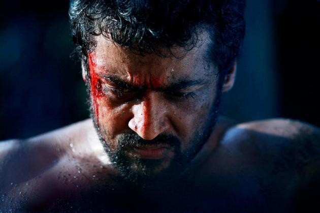 Surya  Sivakumar latest Angry still