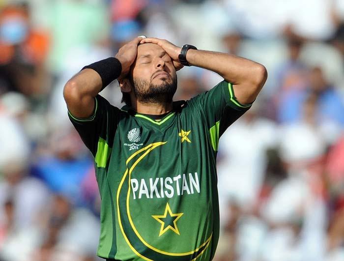 Pakistan captain Shahid Afridi tenson photos