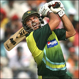 Shahid Afridi batting still